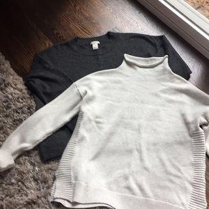 Tahari roll neck sweater bundle